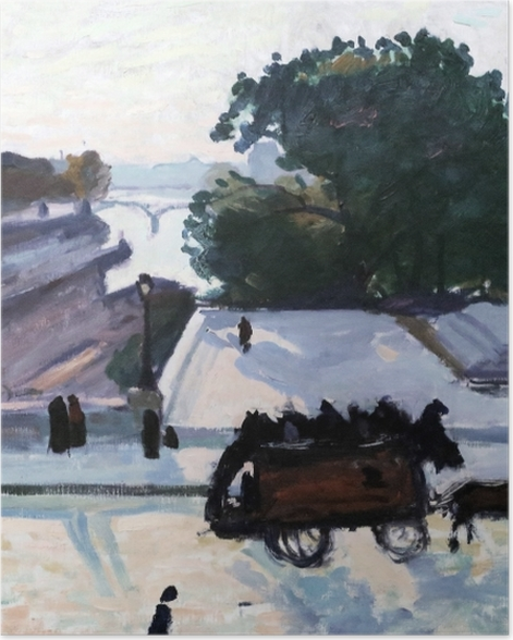 Poster Albert Marquet - Paris. The Pont Neuf im Sommer. - Reproductions