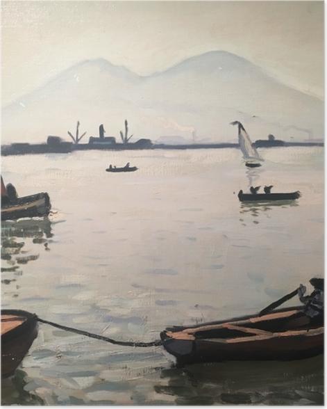 Poster Albert Marquet - Vesuv - Reproductions