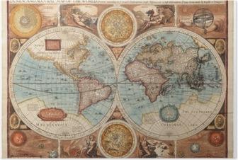 Poster Alte Karte (1626)