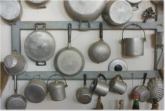 Poster Alte Küchenausstattung