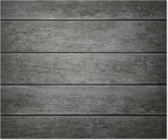 Carta da parati alterate grigio texture di legno orizzontale