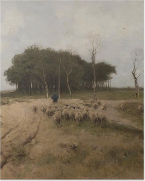 Poster Anton Mauve - Hitze in Laren - Reproductions