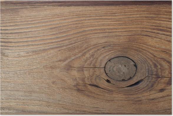 Poster Außenverkleidung aus Zedernholz mit Knoten • Pixers® - Wir ...