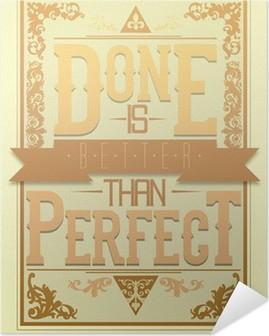 Poster Autoadesivo Poster motivanti