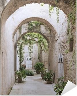 Poster Autoadesivo Vecchia galleria al Castello