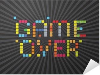 Poster Autoadesivo Videogiochi Icons