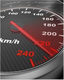 Poster Autogeschwindigkeitsmesser