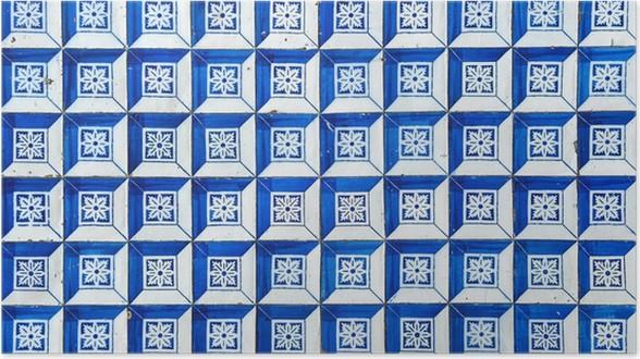 Poster Azulejos Traditionelle Portugiesische Fliesen Pixers - Portugiesische fliesen bilder