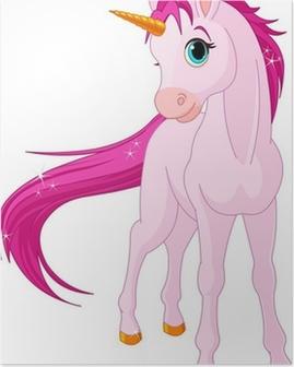 Poster Baby Unicorn