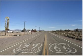 Poster Bagdad California - Historic Route 66