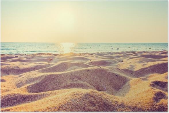 Sfondo con mare e spiaggia