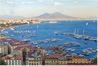 Poster Blick auf die Bucht von Neapel