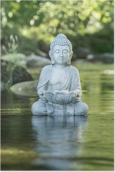 Poster Buddha und Soziales