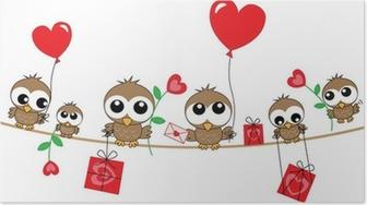 Poster Buon Compleanno O San Valentino Pixers Viviamo Per Il