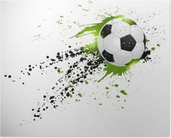 Poster Calcio di design