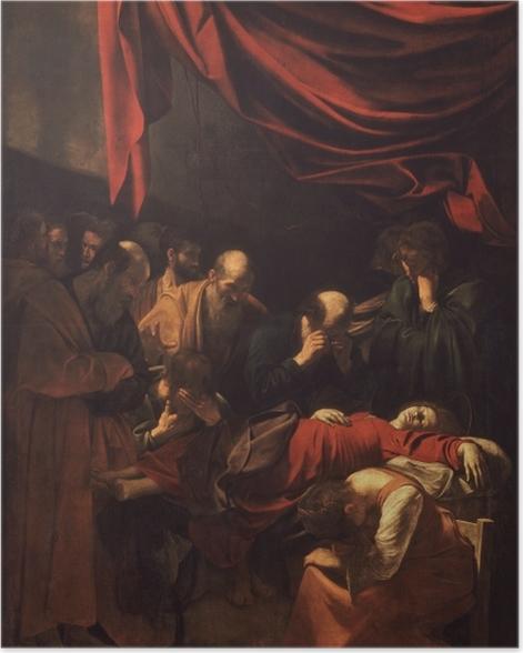 Poster Caravaggio - Der Tod der Jungfrau - Reproductions