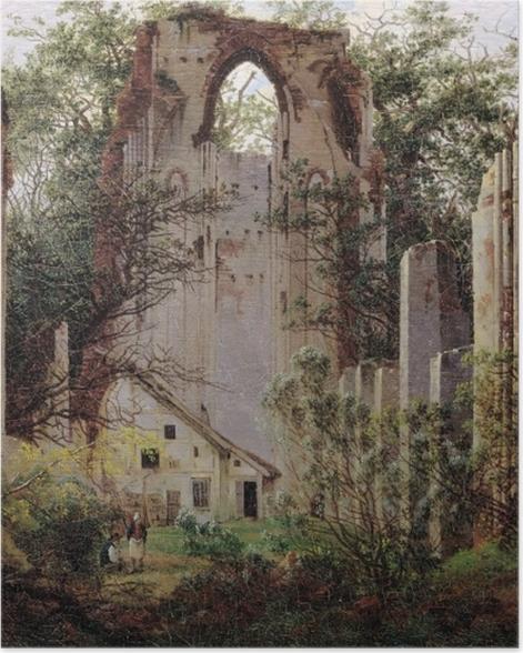 Poster Caspar David Friedrich - Klosterruine Eldena - Reproductions