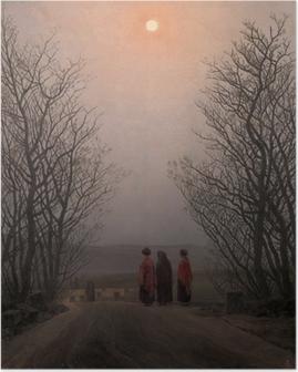 Poster Caspar David Friedrich - Mattina di Pasqua