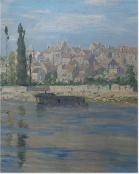 Poster Claude Monet - Carrières-Saint-Denis - Reproduktion