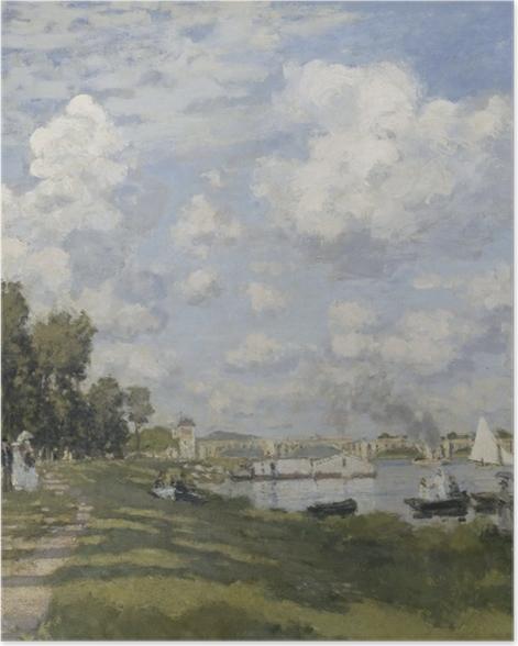 Poster Claude Monet - Das Becken von Argenteuil - Reproduktion