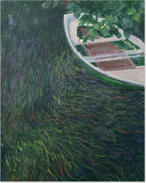 Poster Claude Monet - Das Boot - Reproduktion