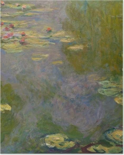 Poster Claude Monet - Der Seerosenteich - Reproduktion