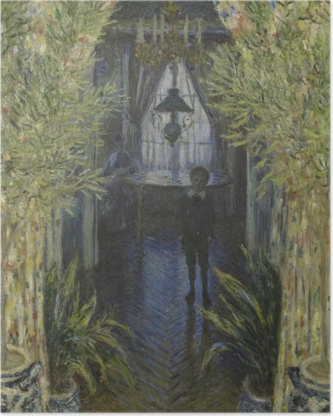 Poster Claude Monet - Einblick in eine Wohnung - Reproduktion