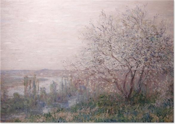 Poster Claude Monet - Frühling - Reproduktion