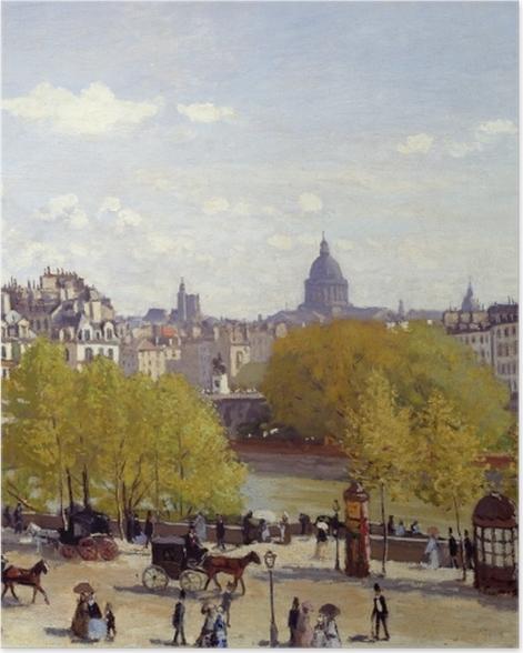 Poster Claude Monet - Quai du Louvre - Reproduktion