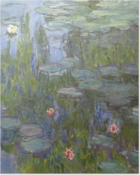 Poster Claude Monet - Seerosen - Reproduktion