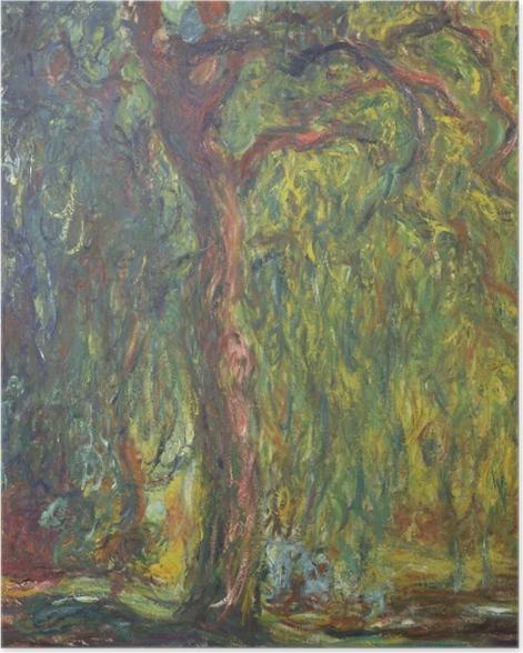 Poster Claude Monet - Trauerweide - Reproduktion