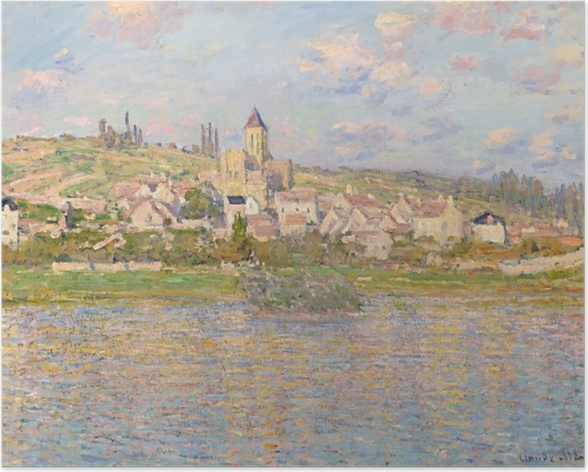 Poster Claude Monet - Vétheuil - Reproduktion