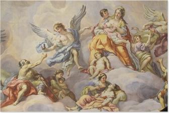 Poster Coupole de l'église Saint Charles, Vienne
