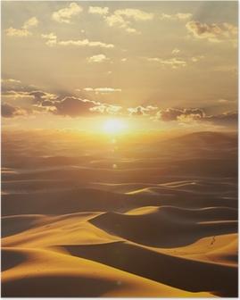 Poster Deserto