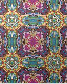 Poster Design tessile moderno dall'America Latina