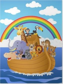 Poster Die Arche Noah