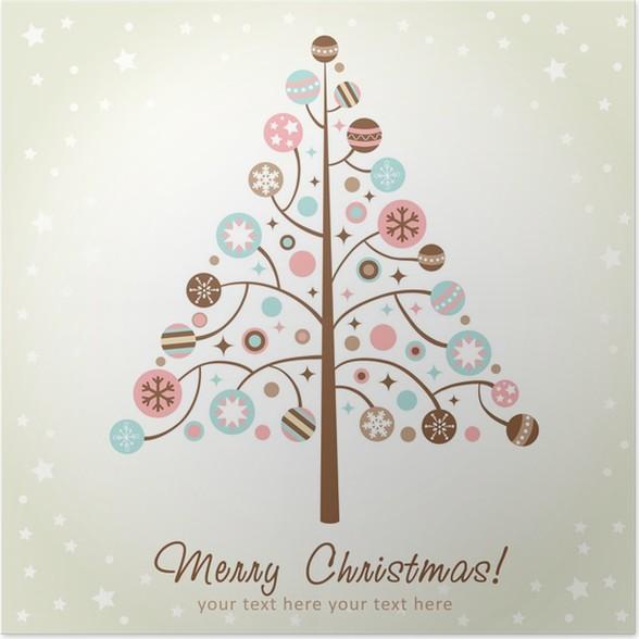 Disegno Albero Di Natale Stilizzato Simple Disegno Stilizzato