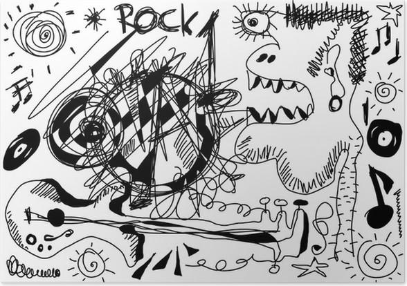 Rockmusik Zeichen