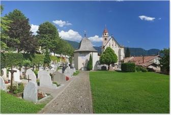 Poster Dorf Tirol Nahe Meran - Südtirol