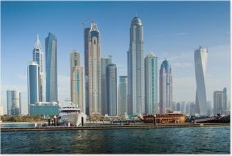Poster Dubai Marina, UAE