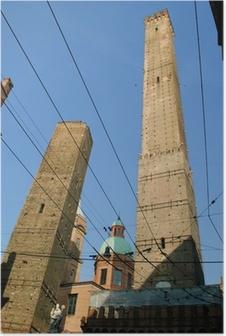 Poster Due torri di Bologna
