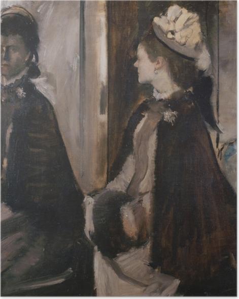 Poster Edgar Degas - Madame Jeantaud vor dem Spiegel - Reproduktion