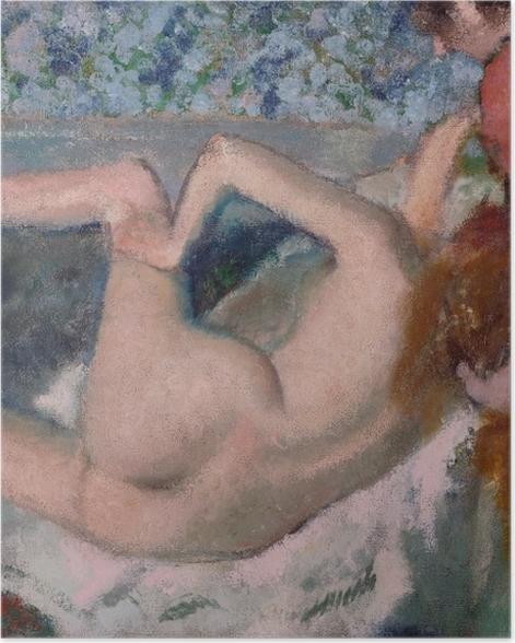 Poster Edgar Degas - Nach dem Bad - Reproduktion