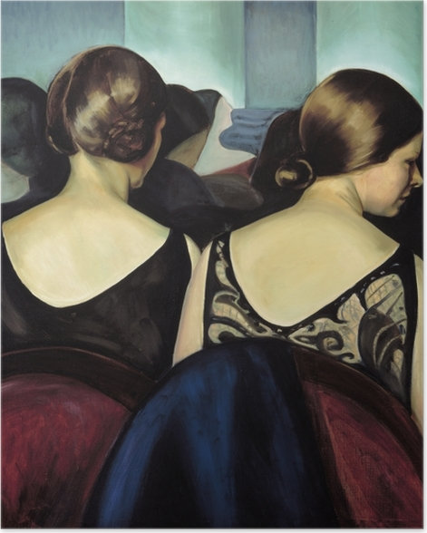 Poster Efa Prudence Heward - Im Theater - Reproductions