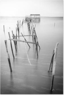Poster Eine friedliche alte Pier
