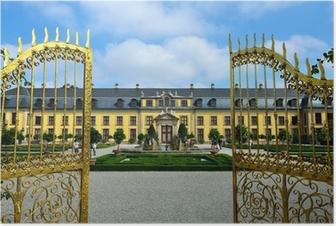 Poster Eingangsportal Schloss Herrenhausen, Hannover