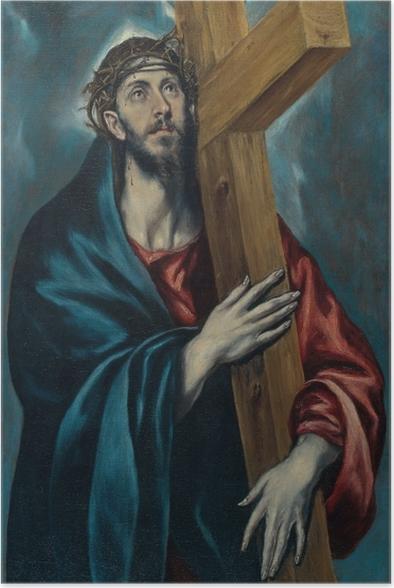 Poster El Greco - Cristo portacroce - Riproduzioni