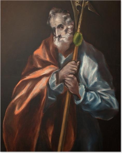 Poster El Greco - Der heilige Judas Thaddäus - Reproduktion