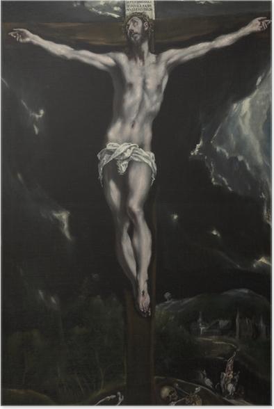 Poster El Greco - die Kreuzigung - Reproduktion