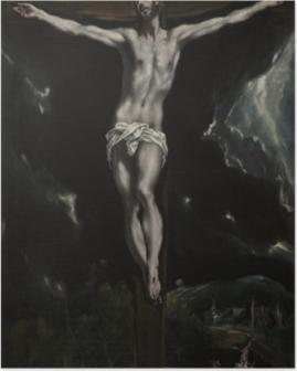 Poster El Greco - die Kreuzigung